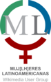 Logo Muj(lh)eres Latinoamericanas Wikimedia User Group.png