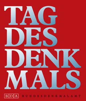 Federal Monuments Office - Poster for the Tag des Denkmals, the Austrian version of the European Heritage Days, sponsored by the Bundesdenkmalamt.