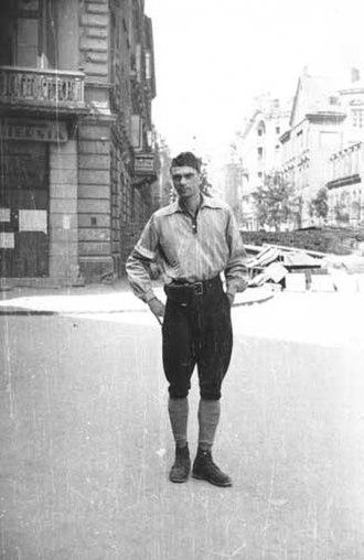 Eugeniusz Lokajski - Eugeniusz Lokajski during the Warsaw Uprising