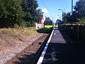 London Midland train approaching Watford North.jpg
