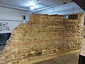 London Roman Wall - London Wall underground car park segment.jpg