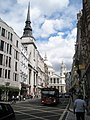 Looking eastwards along Ludgate Hill - geograph.org.uk - 894198.jpg