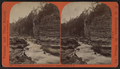 "Looking up the Chasm from ""Devil's Oven"", Ausable Chasm, N.Y, by T. G. Richardson.png"