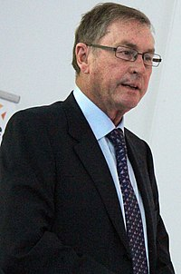 Lord Ashcroft presents Zulu at the Policy Exchange-Crossbench Film Society cropped.JPG
