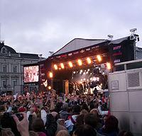 Lordi at the Market Square
