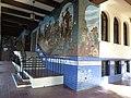 Los Angeles, CA, Bizcailuz Building, Mexican Consul, Hispanic Heritage Center, Blessing of the Animals Mural, Leo Politi, artist, 2012 - panoramio (2).jpg