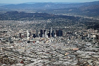 California megapolitan areas - Image: Los Angeles, CA from the air