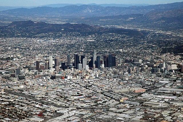 Los Angeles vue des airs
