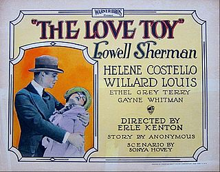 <i>The Love Toy</i> 1926 film by Erle C. Kenton