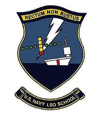 Landing Signal Officer - LSO School Patch