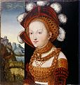 Lucas Cranach der Ältere, Damenbildnis, früher Salome mit dem Haupt Johannes des Täufers.jpg