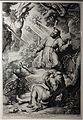 Lucas I vorssterman da rubens, san francesco stigmatizzato, 1620 (haarlem, teylers museum).JPG