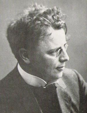 Ludolf Nielsen - Photograph of Nielsen, taken before 1917