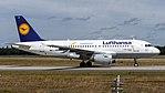Lufthansa (Lu livery) Airbus A319-100 (D-AILU) at Frankfurt Airport.jpg