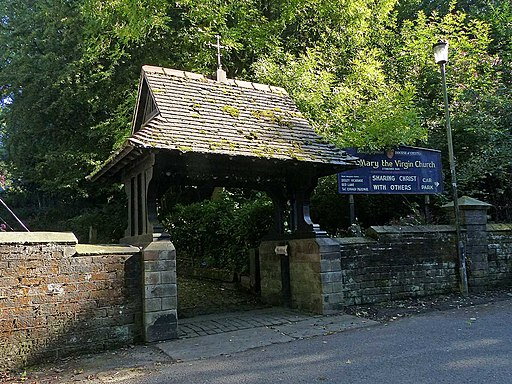 Lychgate, St Mary's Church, Disley