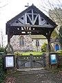 Lychgate to St Margarets Church, Addington - geograph.org.uk - 1176973.jpg
