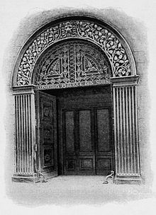 Photo de l'entrée de la condition des soies.