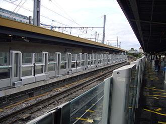Châtillon – Montrouge (Paris Métro) - Image: Métro de Paris Ligne 13 Chatillon Montrouge Portes palières
