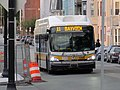 MBTA route 11 bus on East First Street, May 2017.JPG