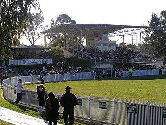Queanbeyan Football Club - Dairy Farmers Park. Home Ground of the Queanbeyan Tigers.