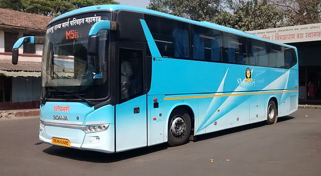 MSRTC Scania Shivneri
