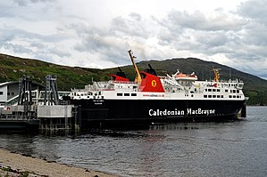 MV Isle of Lewis - Image: MV Isle of Lewis At Ullapool, 16 July 2015