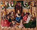 Maître de la Légende de saint Ursule - Marie entourée de saintes.jpg