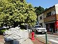 Macau 告利雅施利華街 Rua Correia da Silva Oct-2015 stone dragon head shop 記得食品蝦醬 Mercearia Kei Tac.JPG