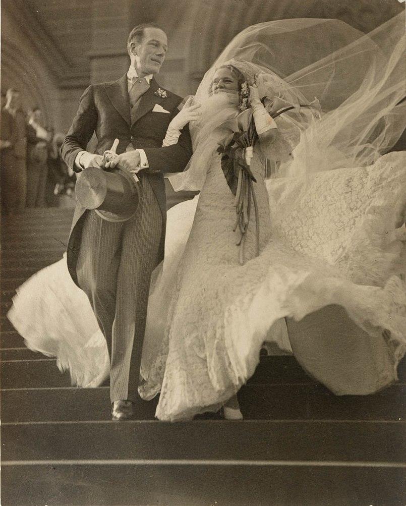 Madge Elliott and Cyril Ritchard's wedding