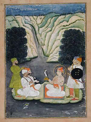 Kishangarh State - Maharaja Kalyan Singh of Kishangarh state (Reigned 1798-1838)