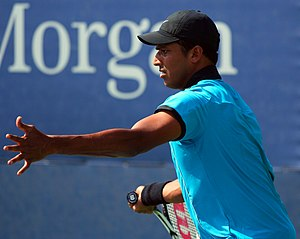 Mahesh Bhupathi - Bhupathi at the 2009 US Open