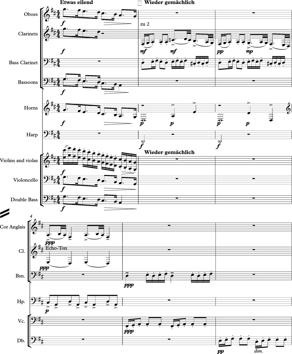 Mahler 4 1st movt Fig 5