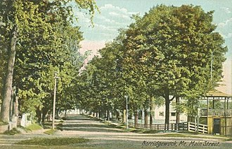 Norridgewock, Maine - Image: Main Street, Norridgewock, ME
