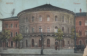 Staatstheater Mainz - The theatre as it looked in 1910