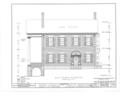 Major General Solomon Cowles House, Main Street, Farmington, Hartford County, CT HABS CONN,2-FARM,6- (sheet 5 of 11).png