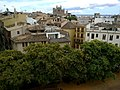 Majorque Palma Bastio Sant Pere Es Baluard Musee Vue Catedrale - panoramio.jpg