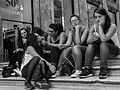 Makeup - by Mario Mancuso (young italian women sitting near Galleria Umberto I in Naples).jpg