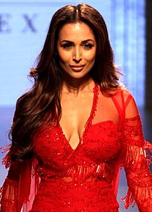 Malaika Arora walks for Ridhi Mehra at Lakme Fashion Week 2017.jpg