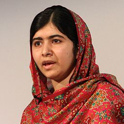 Malala Yousafzai at Girl Summit 2014-cropped