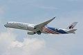 Malaysia Airlines, Airbus A350-900 9M-MAF NRT (42887513761).jpg