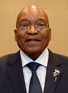 Jacob Zuma 4th President of South Africa