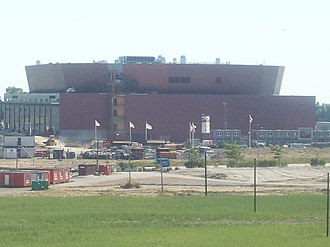 Melodifestivalen 2009 - The newly constructed Malmö Arena hosted the fourth semi-final.