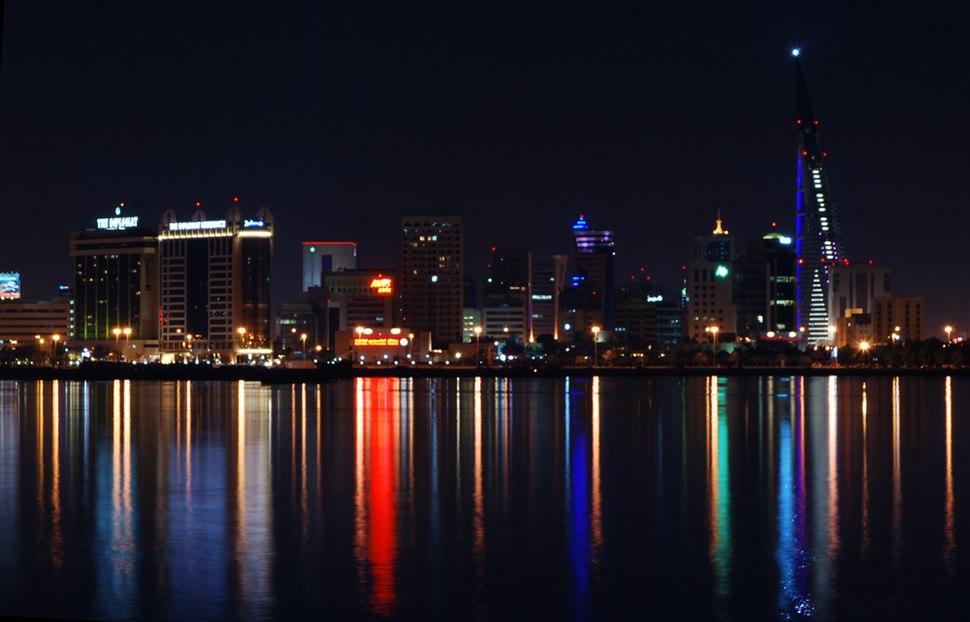 Manama-nightview