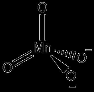 Manganate - Structure of manganate