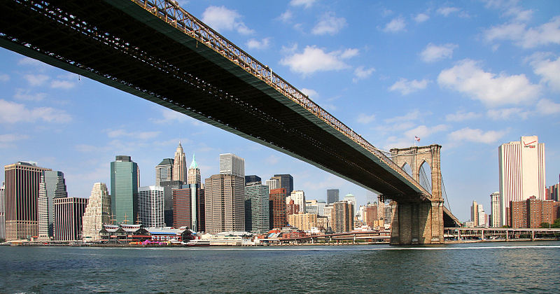 Manhattan ed il ponte di Brooklin