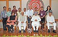 Manmohan Singh with the Awardee Teachers ahead of Teachers' Day, in New Delhi. The Union Minister for Human Resource Development, Dr. M.M. Pallam Raju and the Ministers of State for Human Resource Development (14).jpg