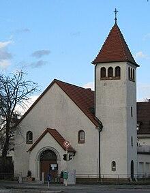 erl serkirche mannheim gartenstadt wikipedia. Black Bedroom Furniture Sets. Home Design Ideas