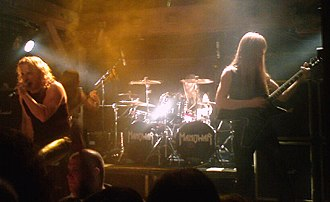 Manowar - Manowar in Hamburg during their 2007 tour.