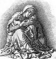 Mantegna, madonna col bambino, incisione, sammlung albertina.jpg