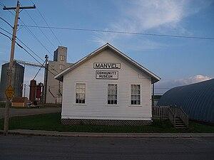 Manvel, North Dakota - The community museum in Manvel